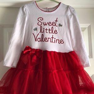 Koala Kids Valentine's Day Dress - Girls 2T EUC